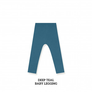 DEEP TEAL Baby Legging