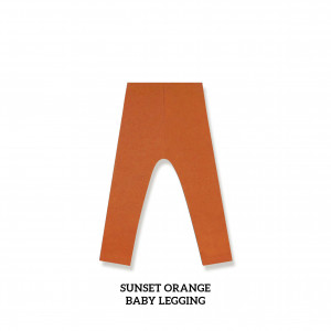 SUNSET ORANGE Baby Legging