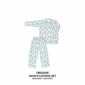 ORIGAMI Mom's Lounge Wear Long Sleeve