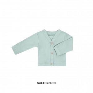 SAGE GREEN Baby Cardigan