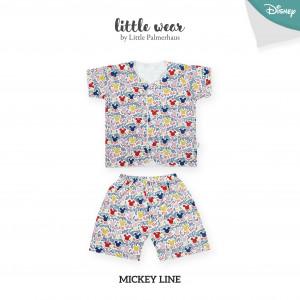 Mickey Line Little Wear Short Sleeve