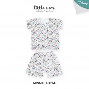 Minnie Floral Little Wear Short Sleeve