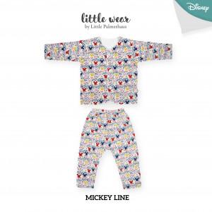 Mickey Line Little Wear Long Sleeve
