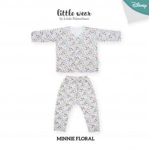Minnie Floral Little Wear Long Sleeve
