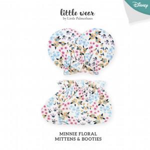 MINNIE FLORAL Mittens & Booties