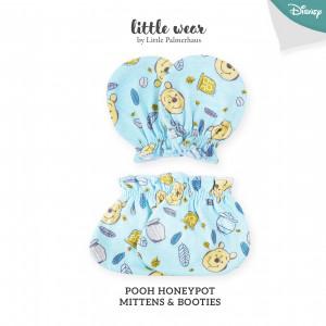 POOH HONEY POT Mittens & Booties