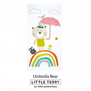 UMBRELLA BEAR LITTLE TERRY TOWEL