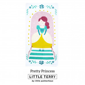 PRETTY PRINCESS LITTLE TERRY TOWEL