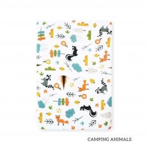 Camping Animals Tottori Baby Towel