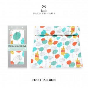 Pooh Balloon Muslin Swaddle