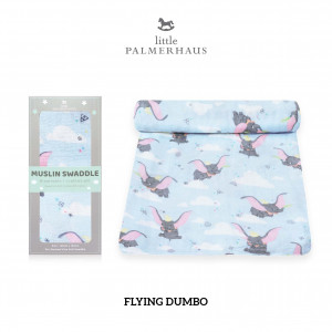 Flying Dumbo Muslin Swaddle