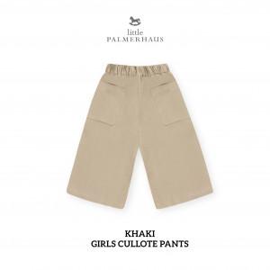 KHAKI Culotte Pants