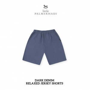 DARK DENIM Relaxed Shorts