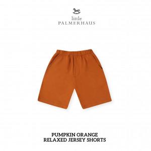 PUMPKIN ORANGE Relaxed Shorts