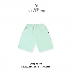 SOFT BLUE Relaxed Shorts