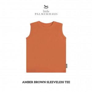 AMBER BROWN Sleeveless Tee