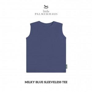 MILKY BLUE Sleeveless Tee