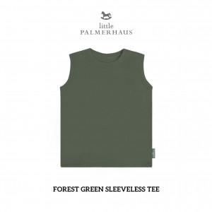 FOREST GREEN Sleeveless Tee