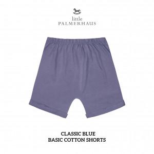 CLASSIC BLUE Basic Cotton Short
