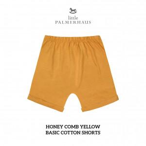 HONEY COMB YELLOW Basic Cotton Short