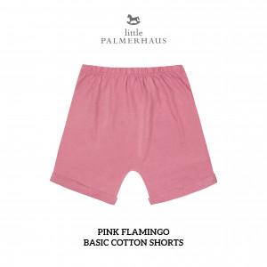 PINK FLAMINGO Basic Cotton Short