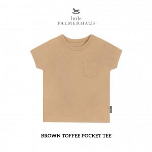 BROWN TOFFEE Pocket Tee
