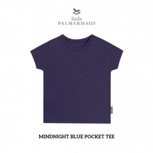 MIDNIGHT BLUE Pocket Tee