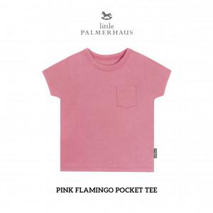 PINK FLAMINGO Pocket Tee