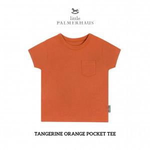 TANGERINE ORANGE Pocket Tee
